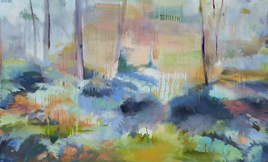 Light Through the Trees_oil on canvas_102x168cm_Dec2020