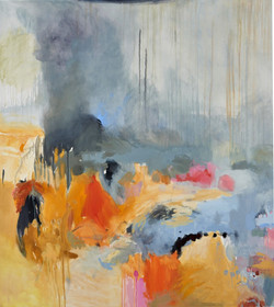 SOLD End of the Dry 152x137.5cm