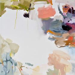 Rock Pool 1, oil on canvas, 71x71cm