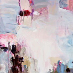 SOLD In the Shallows 97x97cm