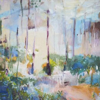 On The Path_oil on canvas_100x100cm_2021