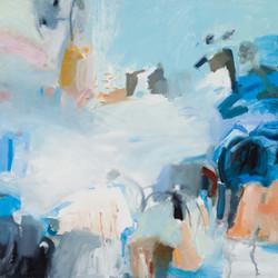 The Surge, oil on canvas,71.5x71.5cm