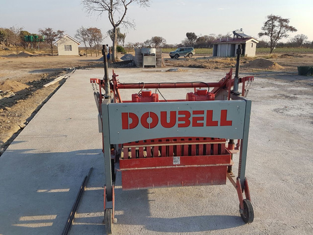 Doubell Jumbo MK3 in a Zimbabwe brickyard