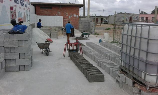 DIY M6 block making machine production