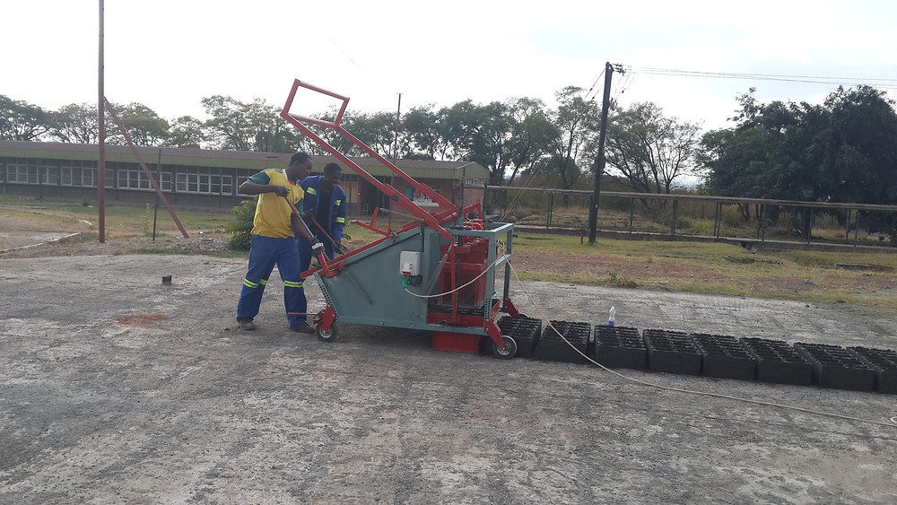 Doubell Jumbo MK3 Brick-making machine