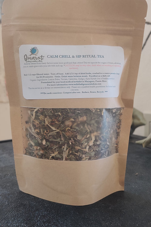 Calm Chill and Sip Ritual Tea