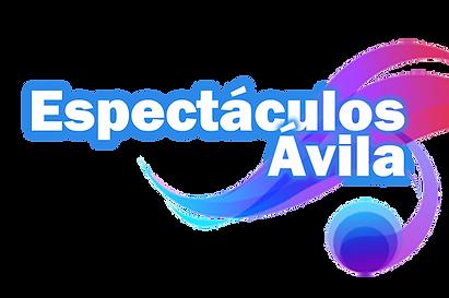 Logo espectaculos avila. Discoteca movil, discomovil, iluminacion y sonido