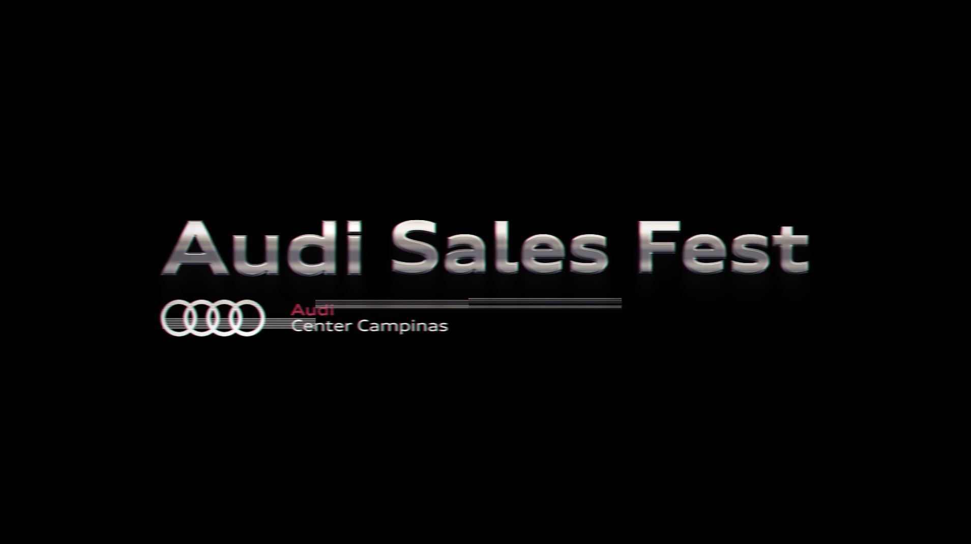 Audi Sales Fest