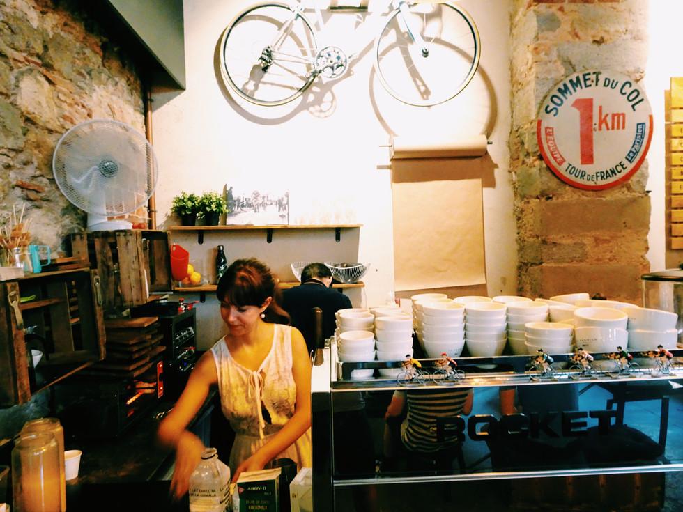 Coffee in Girona