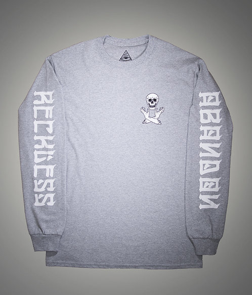 Claws Heather Grey Long Sleeve