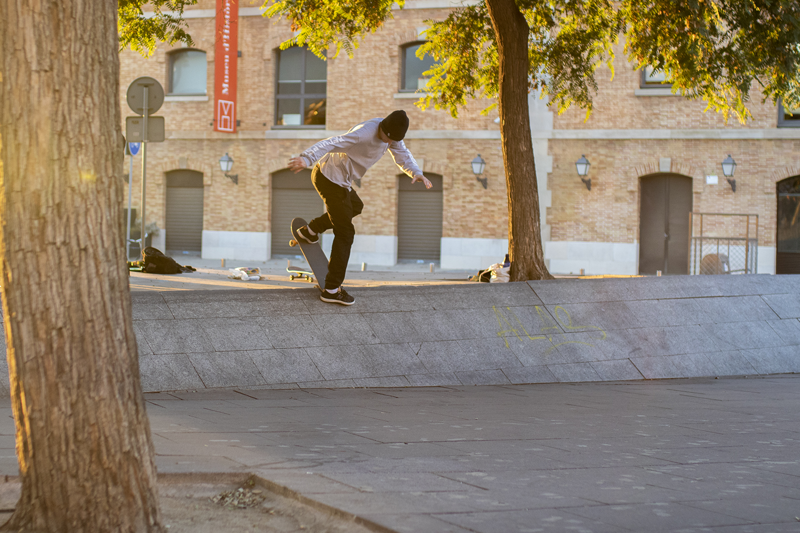 Backside Noseblunt - Barcelona