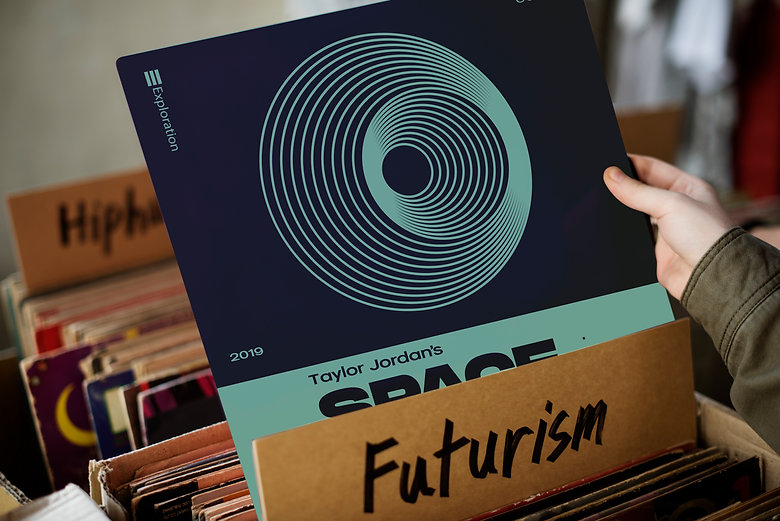 Space Exploration Vinyl Shop Collector I