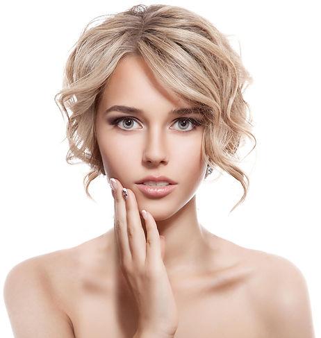 Argan oil hair model