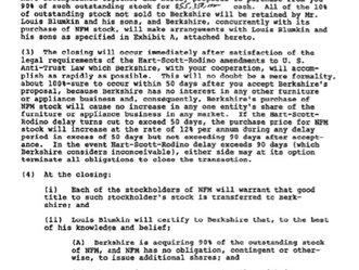 Berkshire 1983 Shareholder Letter - Cliff's Notes Version