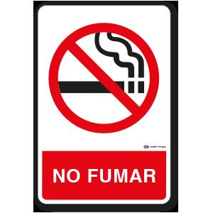 No Fumar (30 x 45 cm.)