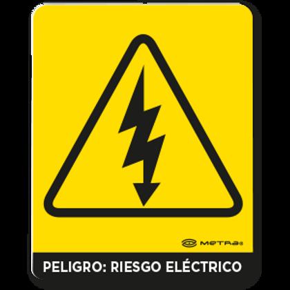 Peligro: Riesgo eléctrico