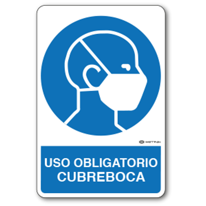 Uso Obligatorio - Cubreboca