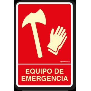Equipo de Emergencia (30 x 45 cm.)