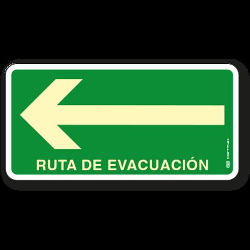 Ruta de Evacuación (Izquierda)