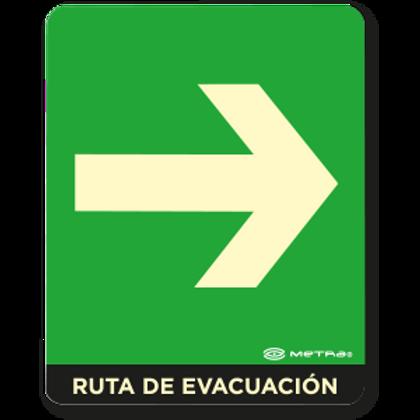 Ruta de Evacuación (Derecha)