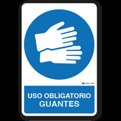 Uso Obligatorio - Guantes