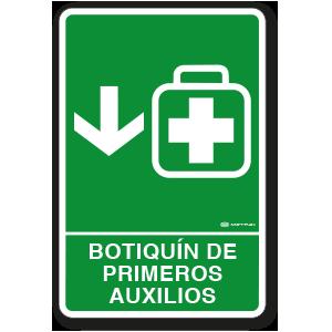 Botiquín de Primeros Auxilios (30 x 45 cm.)