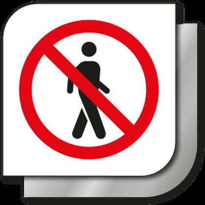 No pasar (Acceso restringido)