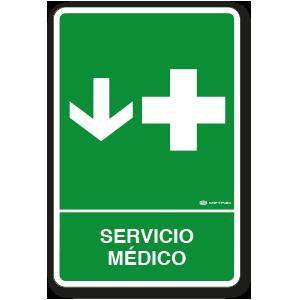 Copia de Servicio Médico (30 x 45 cm.)