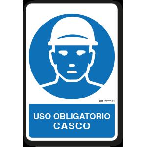 Copia de Uso Obligatorio - Casco (30 x 45 cm.)