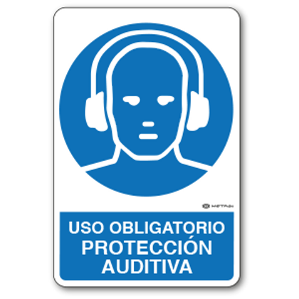 Uso Obligatorio - Protección Auditiva