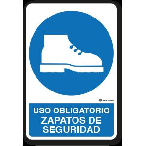 Copia de Uso Obligatorio - Zapatos de Seguridad (30 x 45 cm.)