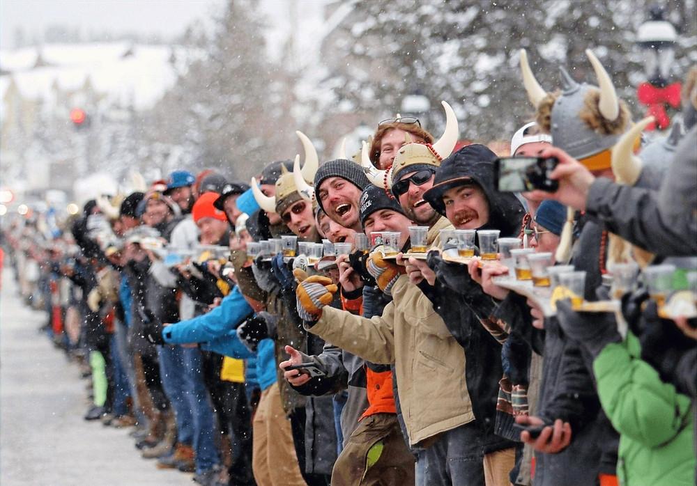 Ullr fest shot ski record break