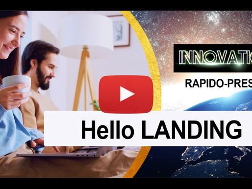 Hello Landing - ⏱ INNOVATION RAPIDO-PRESTO