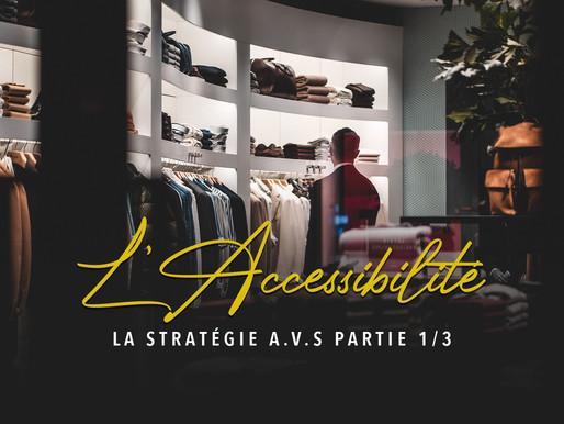 LA STRATÉGIE A.V.S PARTIE 1/3 : L'Accessibilité