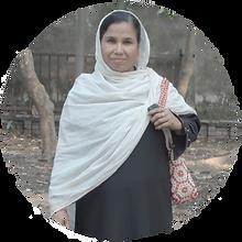 Kvinde fra slummen