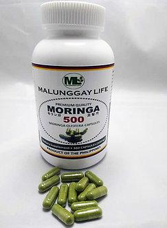 (Wholesale) Moringa 500mg REGULAR Capsules Bottle of 360 pcs x  6 Bottle