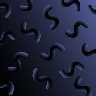Dark Curved Shapes