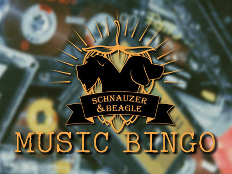 MUSIC BINGO - perfect for music lovers