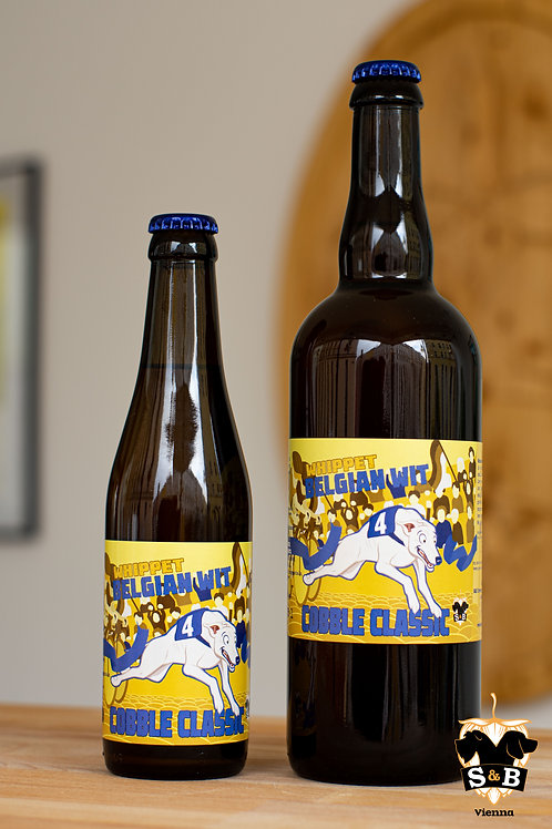 Cobble Classic - Whippet Belgian Witbier (3 x 750ml)