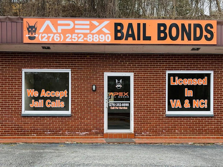 Apex Bail Bonds Opens in Martinsville, Henry County