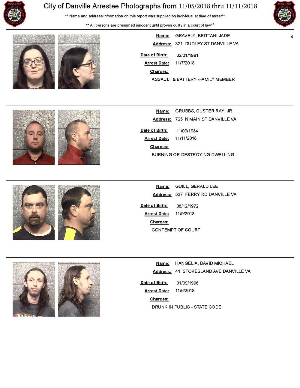 Bail Bondsman Mugshots
