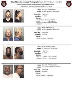 NEW* Danville Mugshots - Arrest Photos from Nov  5th - Nov  11th