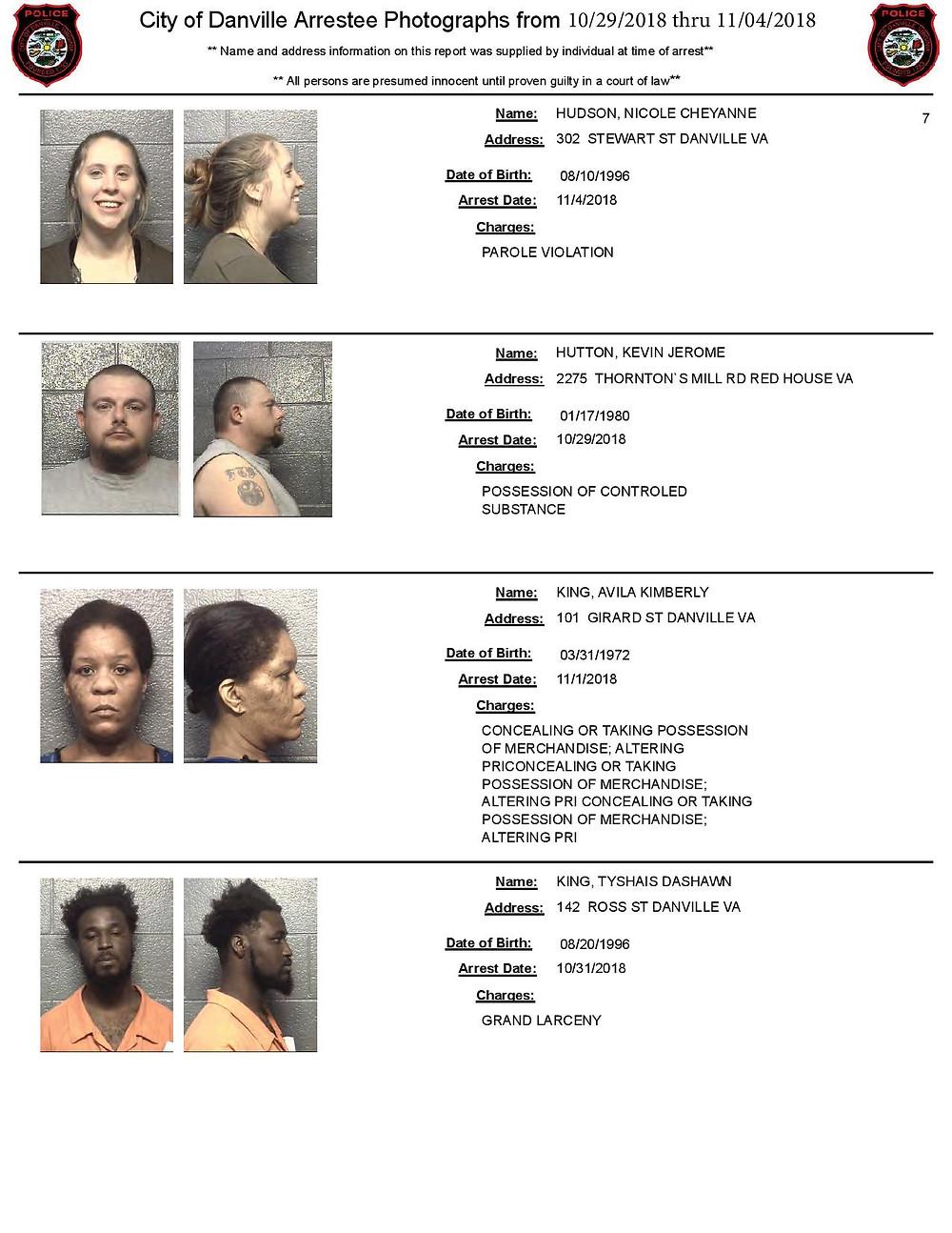halifax arrest photos