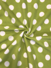 GIANT GREEN POLKA