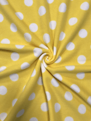 GIANT YELLOW POLKA