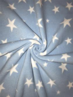 BABY BLUE TWINKLE STARS