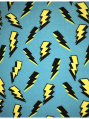 LIGHTNING BOLTS BLUE