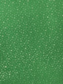 EMERALD GREEN FOIL STARS