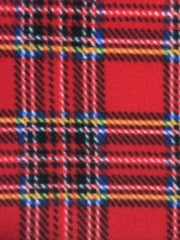 OLD SCHOOL TARTAN RED