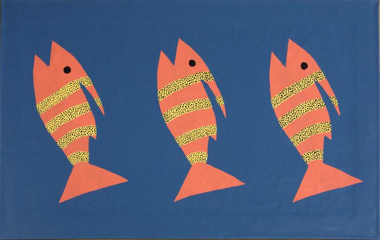 Three Orange Fish